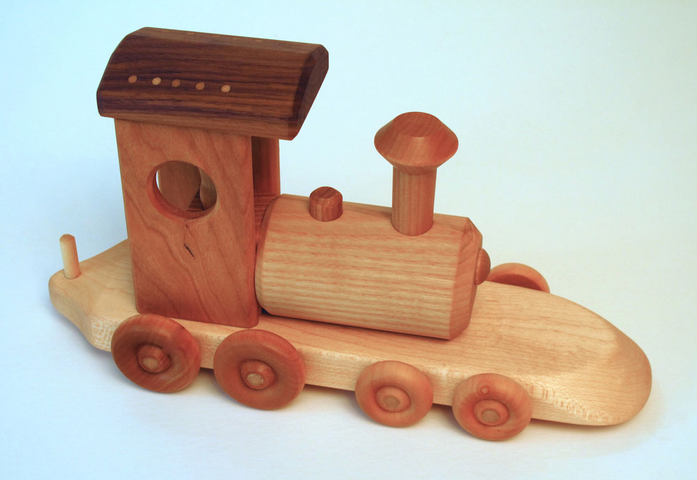 Wooden Trains Toys 13