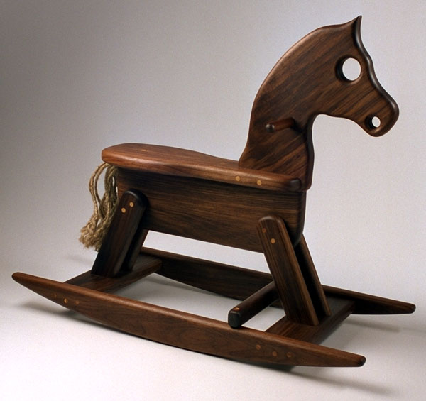 wooden rocking horse plans build